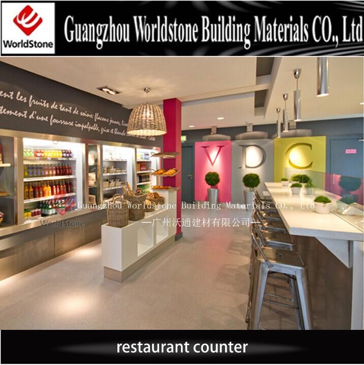 2018 Restaurant Counter Reception Counter Design View
