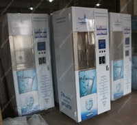 Coin validator purified water vendor vending machine in 24 hours service