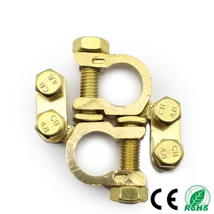 Brass Battery terminal with factory drop shipping car battery clip.