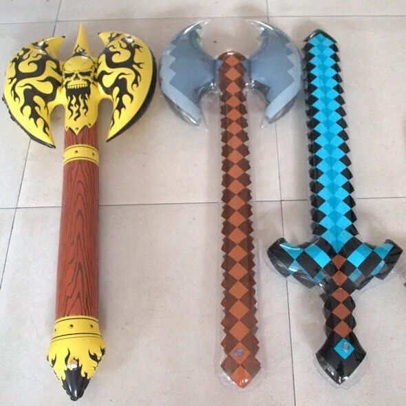 Inflatable Medieval Knight Sword  Fancy Dress Blow Up Accessory Party Prop