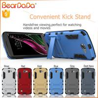 Hybrid 2 in 1 free sample phone case for lg E1