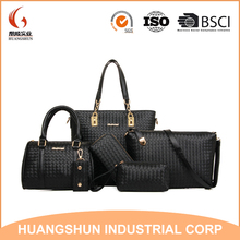 Fashion Handbag for Women Designer Bag Handbag Bulk China Factory set bag 6 in 1 set