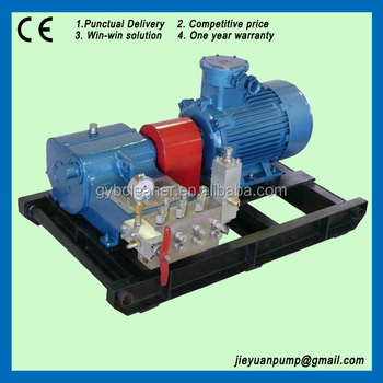 Electric motor drive hydraulic test pumps high pressure Car wash motor pump