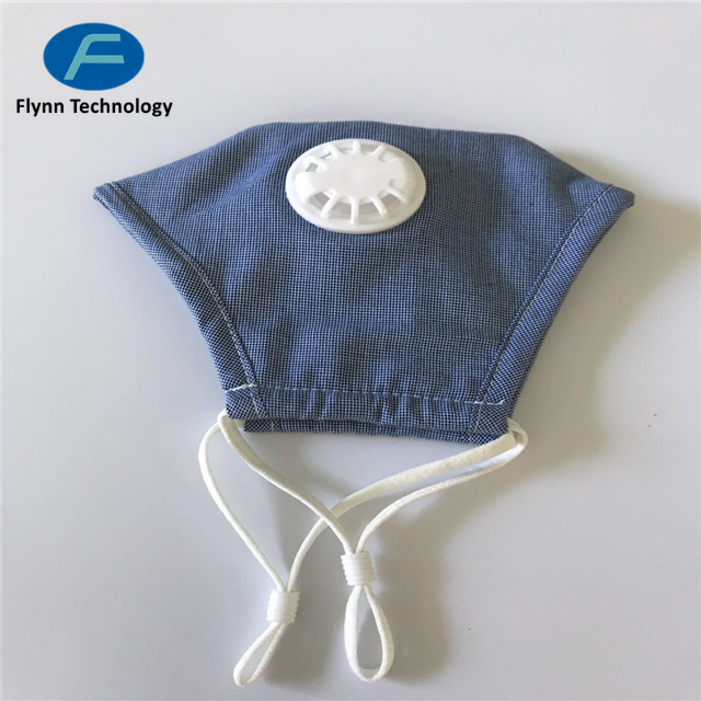 OEM anti-pollution PM 2.5 custom cotton mouth mask for face