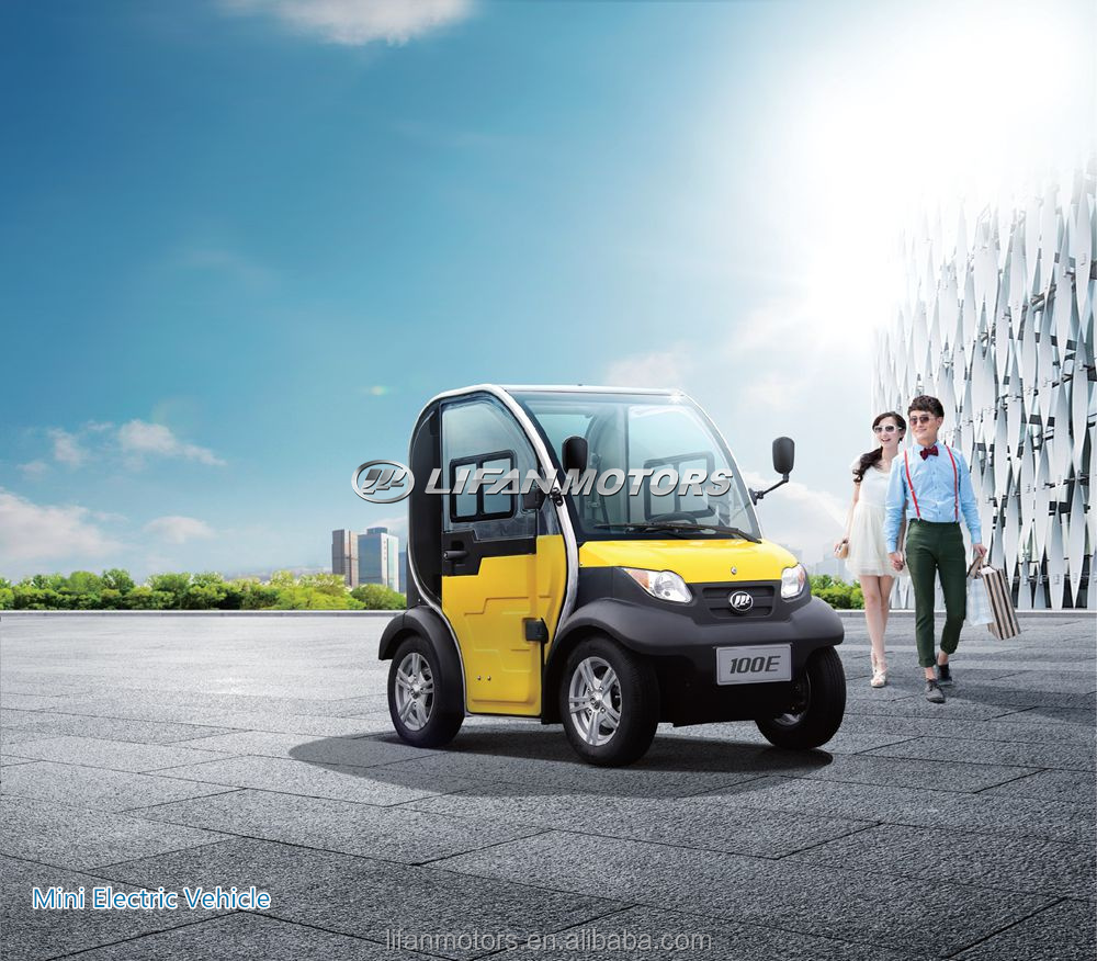 Official electric car with Lithium battery electric vehicle