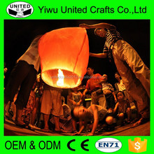 Beautiful New Product Eco Fire-Resistant Chinese Sky Lanterns