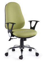 Host sell PP armrest green fabric office task chair