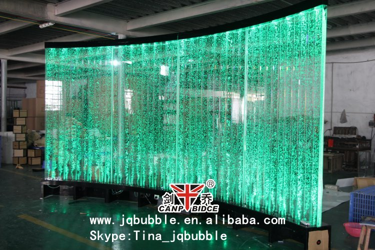 Plexiglass Led Light Indoor Water Fountain Restaurant Bar