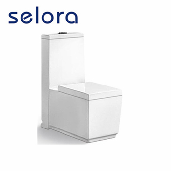8205 Meiyujia nano glaze S-trap250mm bathroom square toilet one piece wc