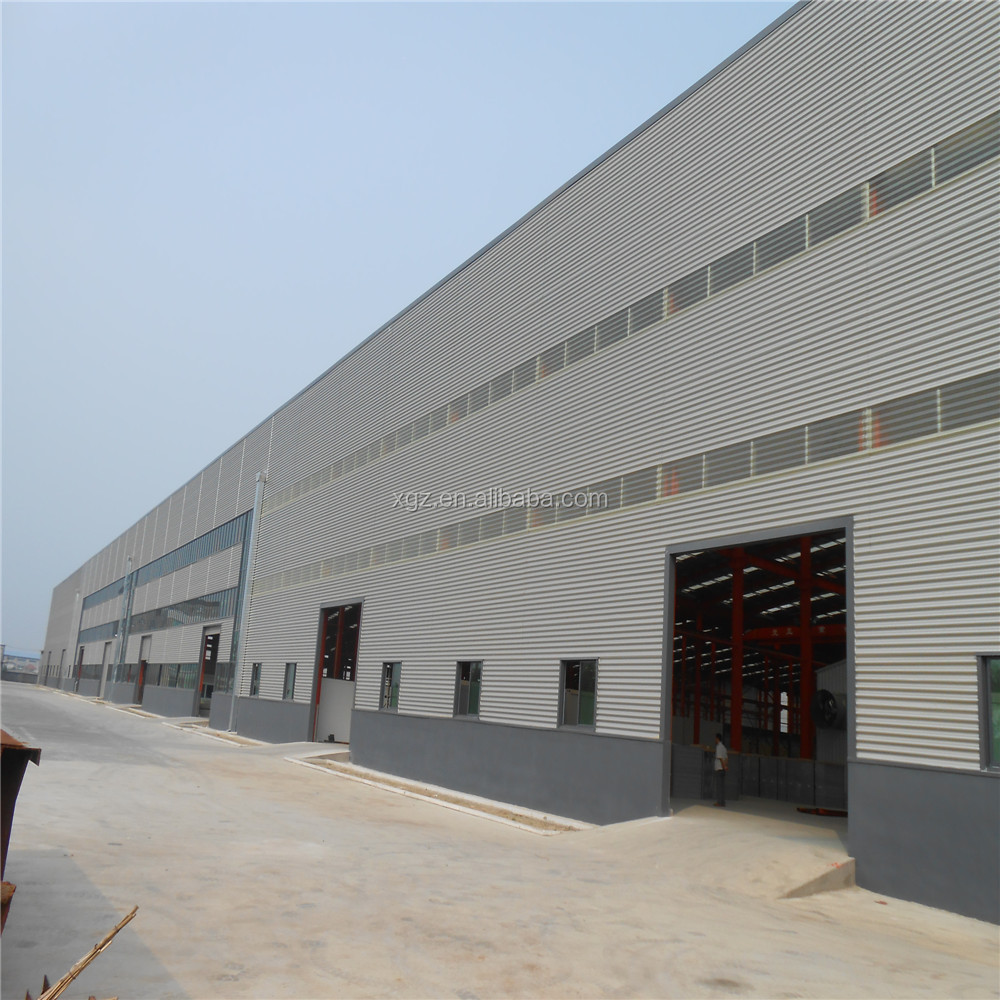prefabricated steel structure design large storage building cost warehouse building kit