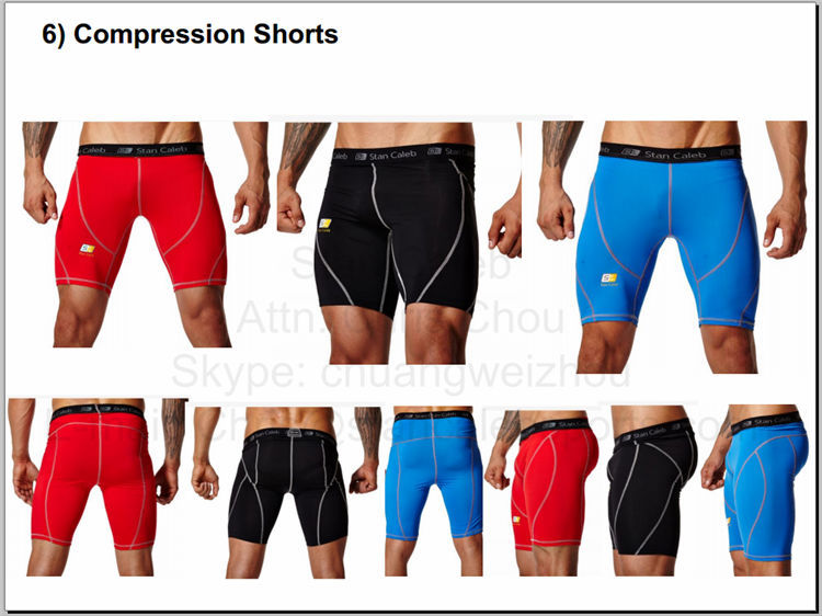 Customize Mens Compression Shorts Cheap Compression Shorts Fitness ...
