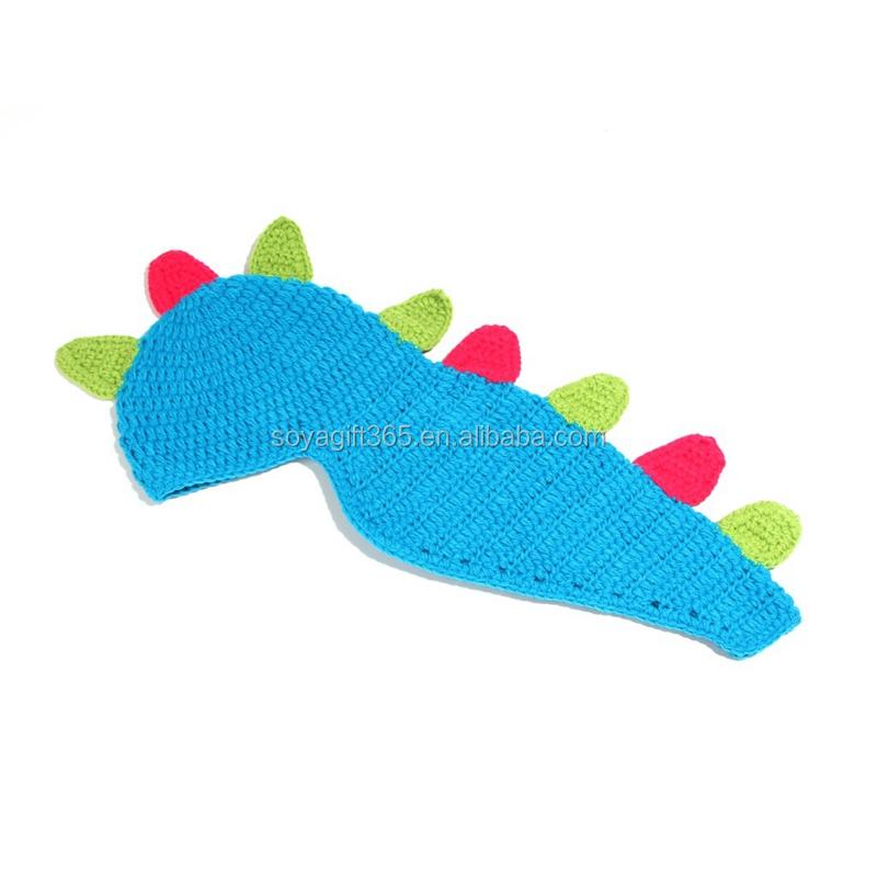 Encuentre el mejor fabricante de gorro a crochet de dinosaurio y ...