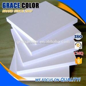 1220x2440 0.55 0.6 open cell pvc foam sheet 5mm 10mm for display rack