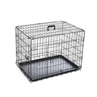 In Stock Commercial Pet Stainless Steel Cages Metal kennel Mesh Pet Dog Cage