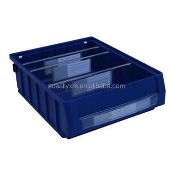 new type plastic storage bin warehouse spare parts storage solution plastic stackable bins - Plastic Stackable Bins
