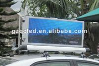 Taxi advertising led screen