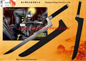 cartoon & anime Hellsing cosplay sword Andrew Alexander steel double knives