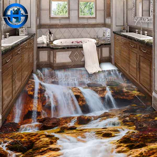 High resolution 3d ceramic floor tile 800 x 800mm Glazed and High burn surface decorative 3d tiles