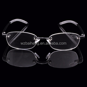 82152e25d0 2018 hot sale frameless  rimless reading glasses
