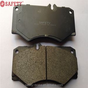 Semi-metallic Ceramic auto brake pad for DB239 D927 MERCEDES-BENZ G 200