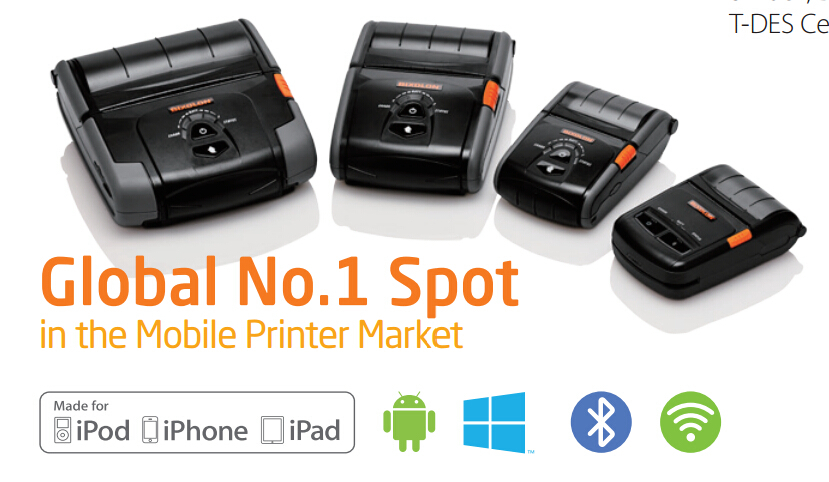 80mm Android Rs232 Mini Thermo Printer Spp-r300 Support Ios Bluetooth - Buy  80mm Thermo Printer,Android Rs232 Mini Bluetooth Printer,Mobile Printer