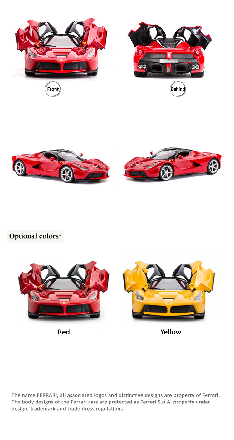 1:14 Remote Control Kids Car FERRARI Licensed Vehicle RC Toys