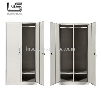 High quality steel wardrobe bedroom furniture