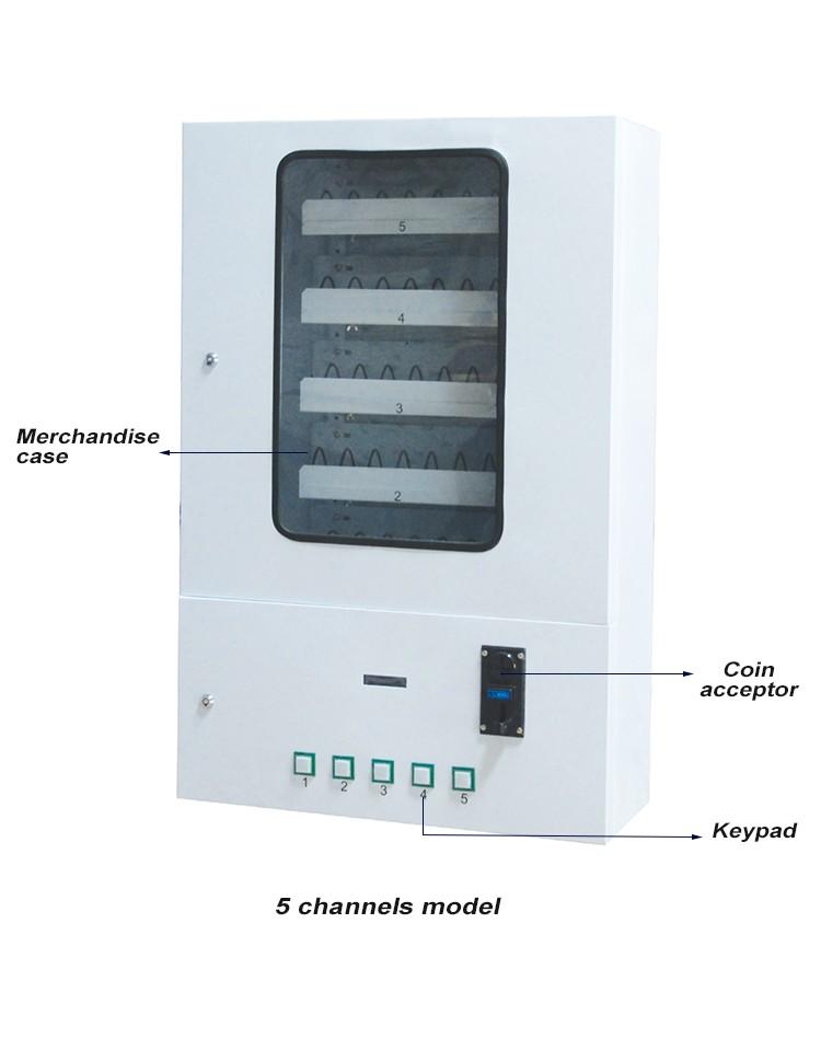 wall mounted vending machine