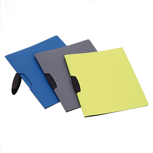 A4 PP Stationery Plastic Report File Swing Clip Folder