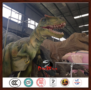 Customized professional realistic dinosaur costume for sale raptor with best quality and low price