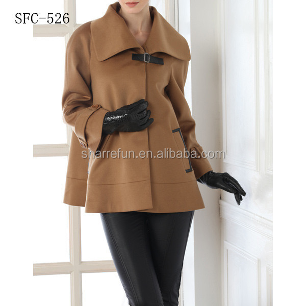 Young Ladies Fashion Style Pure Wool Coats - Buy Young Ladies ...