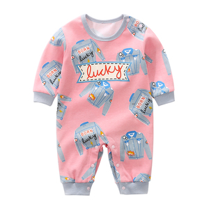 YiErYing Baby Rompers Long Sleeve Cartoon Magnetic tape Costume Playsuit Baby Clothes kids Cute Clothing neonatal clothing