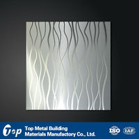 China Artistic Aluminum False Suspended Ceiling Tiles/board/panel