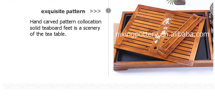 Tea Tray Set Chinese Traditional Wooden Tea Trays for Wholesale