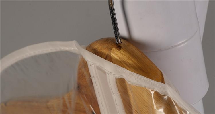 Atacado baratos mini viajar Transparente Reutilizável saco do terno PEVA saco de Vestuário Tampa de plástico transparente com impressão do logotipo personalizado