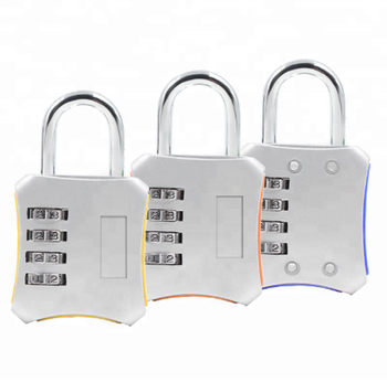 Zinc Alloy Resettable Password Lock 4 Digits Code Combinations Padlock For  Security - Buy Padlock 4 Digit Combination,Combination Lock For