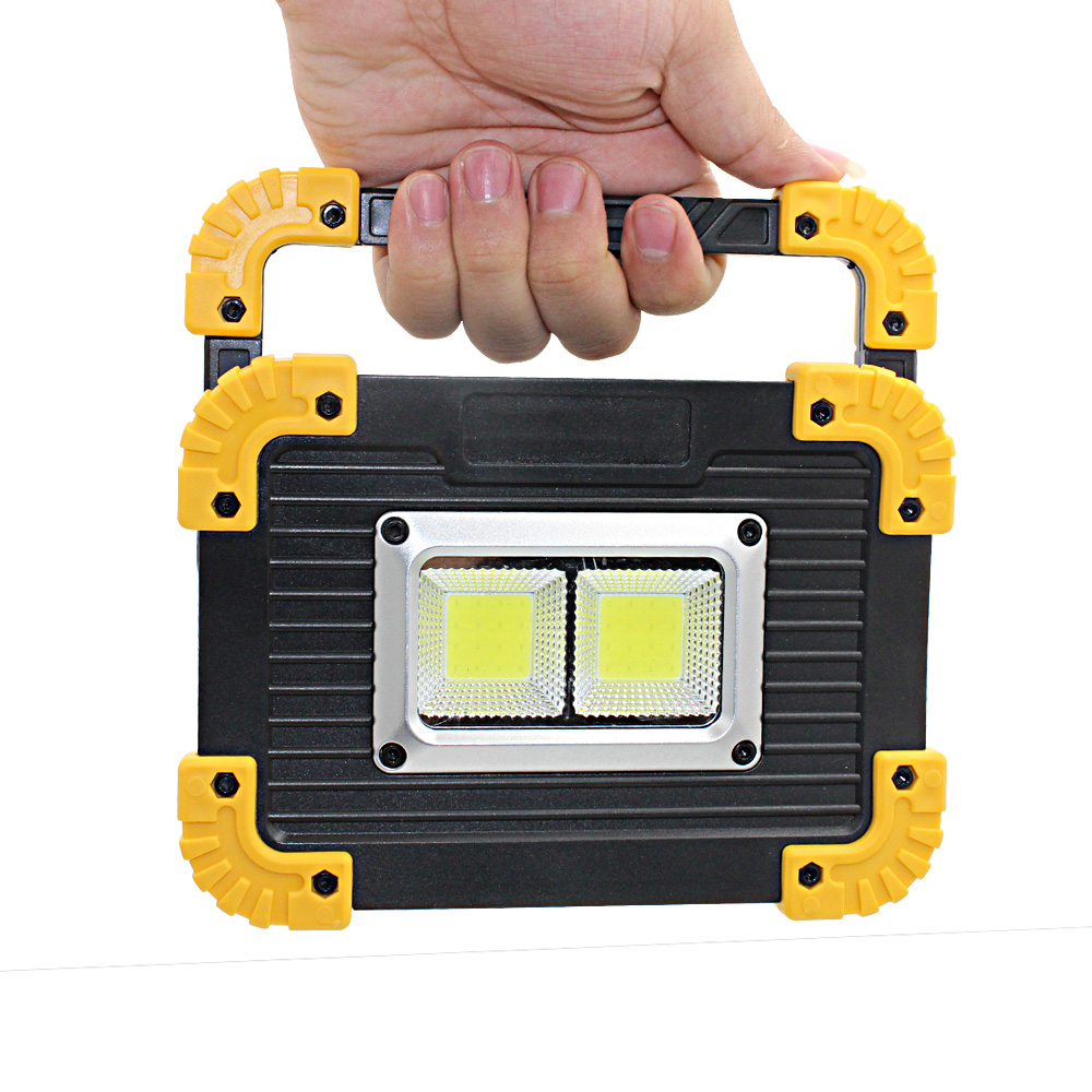 20W Led Rechargeable COB Flashlight Foldable Portable COB Led Work <strong>Light</strong> With Magnet