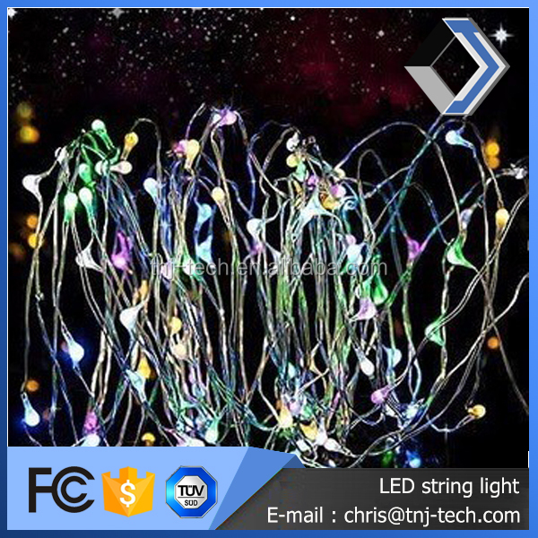 Rice shape 12v 10m lighting modern decorative led fairy light for xmas