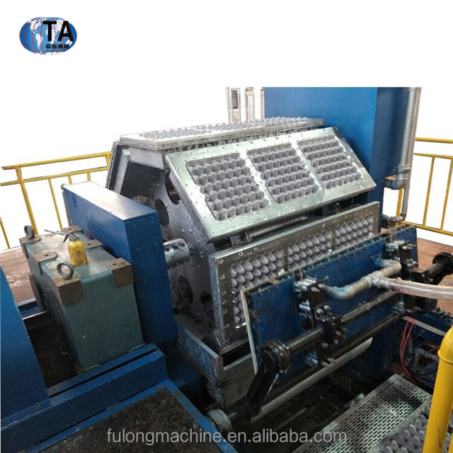 2017 full automatic pulp molding machine price/paper egg crate making machine/making egg tray