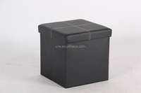 DC-1107 Coffee table Faux Leather Folding Storage Collapsible Ottoman