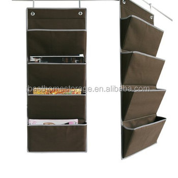 over the door hanging magazine organizer  sc 1 st  Alibaba : door organizer - pezcame.com
