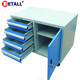 Tool cabinet trolley with durable casters