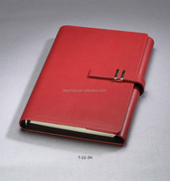 Business/school leather notebook produce by high quality paper notebook making machine