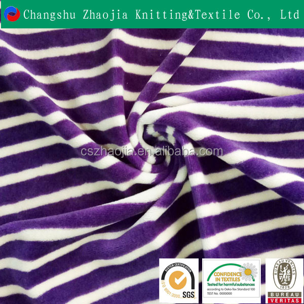 China high-quality textile supplier Super Soft Short Pile Plush knitted printed Fabric for bedding
