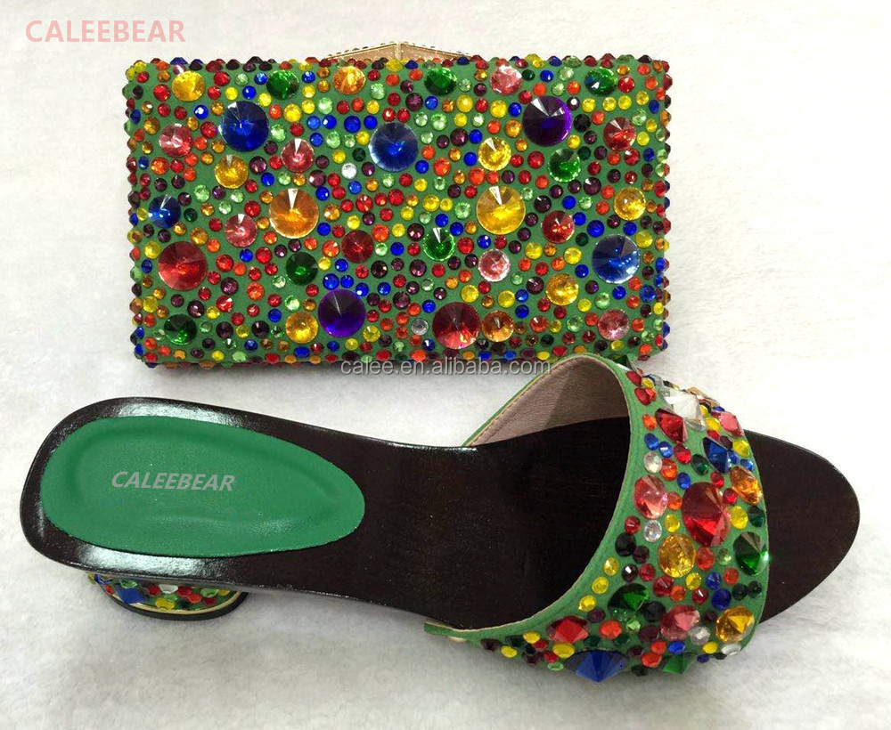 Big Design Party Shoes African Bags For Handbag Clutch And Beautiful Woman Matching q7aPnB7v