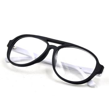 6506c3e10492c8 Lunettes Acétate,Cadre Ovale Pour Optique,Double Pont Glasse Cadre ...