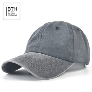 Wholesale 100% Cotton Twill Plain Dad Hat Washed Black Custom Baseball Cap  Factory 0f27bc18845e