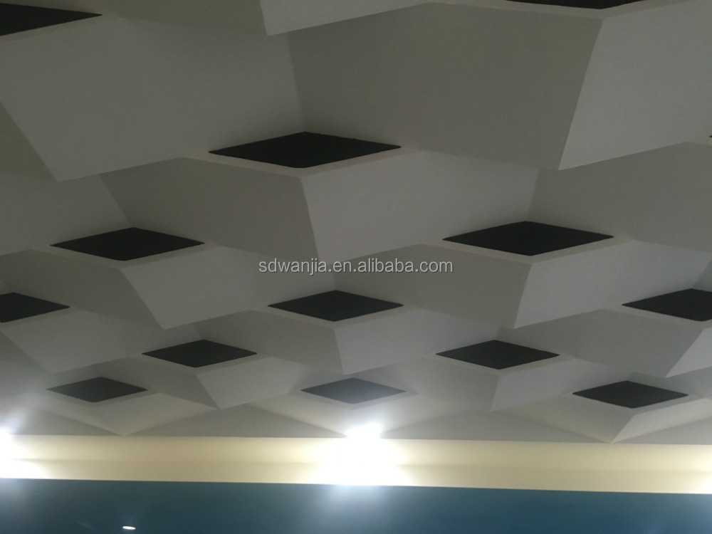 etalon size of Gypsum board for partition system for film hall