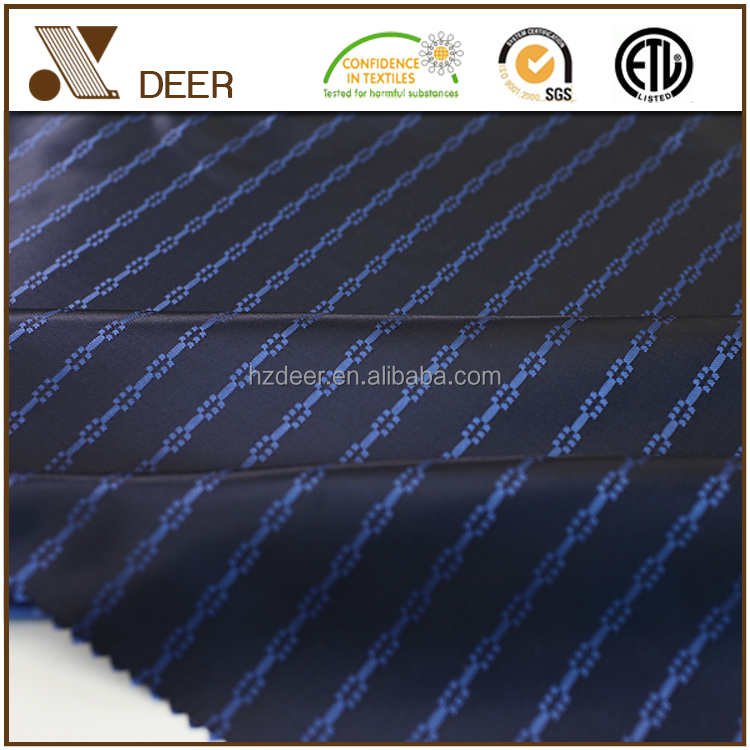 Top Quality 100% Polyester Satin Dobby Suiting Fabric For Garment