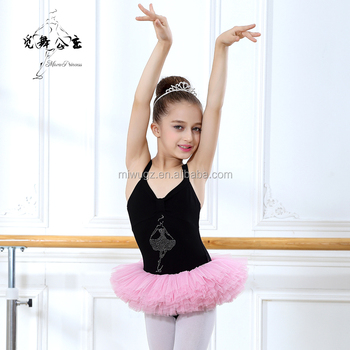 Wudie Princess Tutu Skirt Ballet Dress Girls